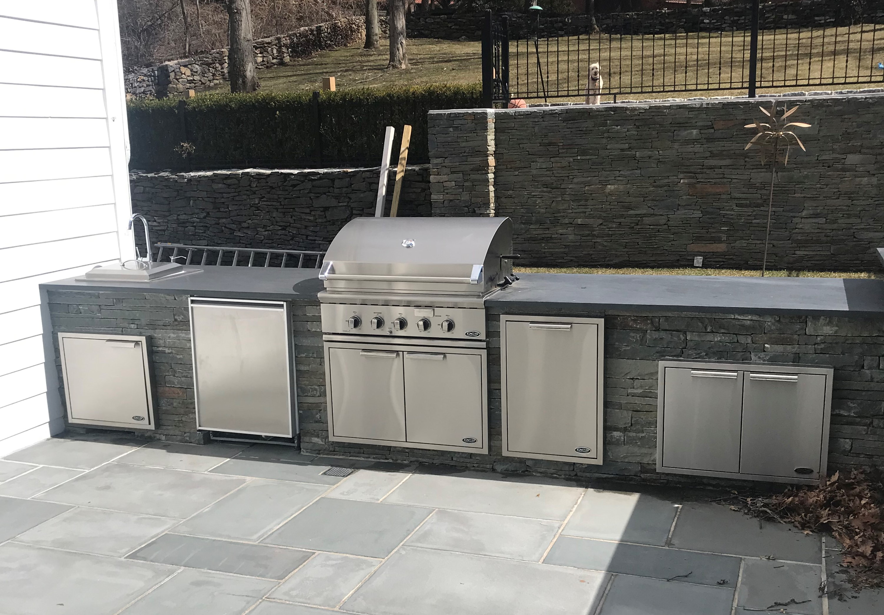 dcs outdoor kitchen